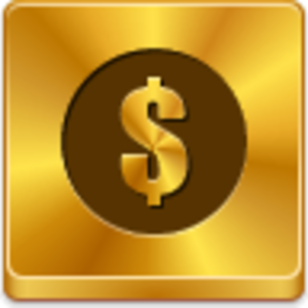 Dollar Coin Icon | Free Images at Clker.com - vector clip ...