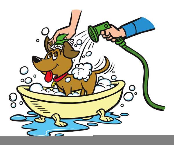 dog getting bath clipart free images at clker com vector clip rh clker com dog images free clipart dog bone images clip art