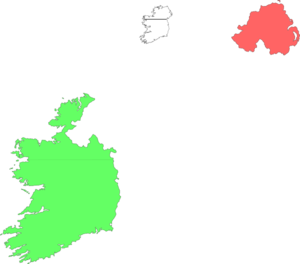 Ireland Land Drawing Clip Art