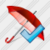 Icon Umbrella Ok Image
