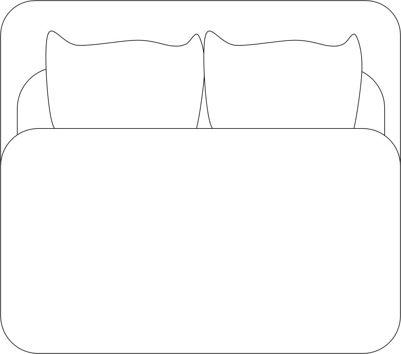 Bed Bw | Free Images at Clker.com - vector clip art online ...