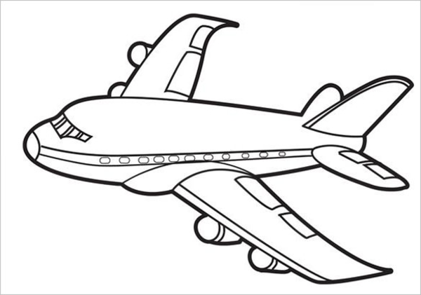 Printable Paper Airplane Clipart Free Images At Clker Com