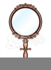 Free Clipart Hand Held Mirror Image