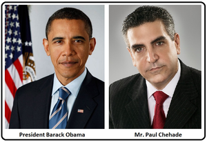 Barack Obama Paul Chehade Image