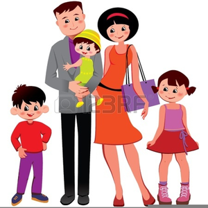 free military family clipart free images at clker com vector rh clker com Family Clip Art Family Love Clip Art