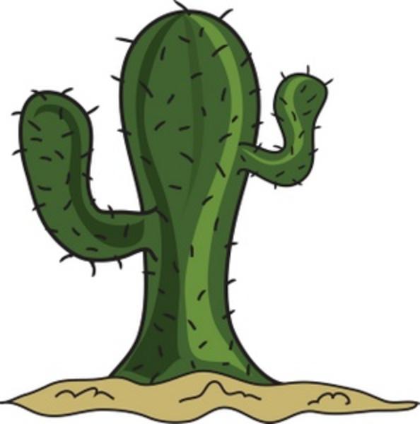 Cartoon Cactus Smu Free Images At Clker Com Vector