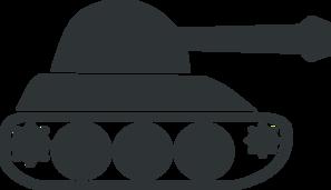 gray tank clip art at clker com vector clip art online royalty rh clker com army tank clip art free WWII Army Tank Clip Art