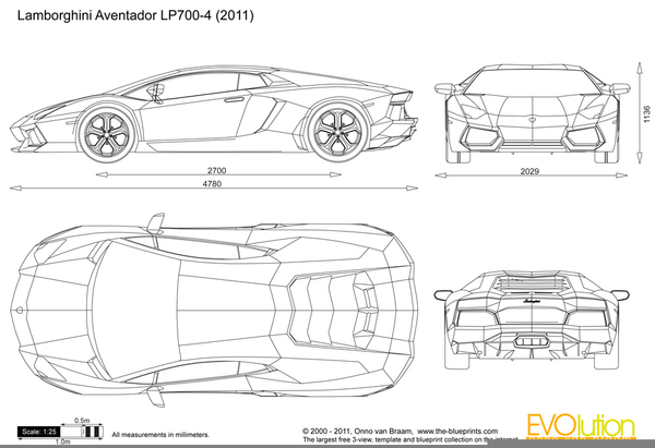 Car blueprint lamborghini free images at clker vector clip download this image as malvernweather Choice Image
