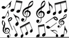 Music Note Free Clipart Image