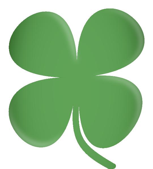 four leaf clover clip art at clker com vector clip art online rh clker com green 4 leaf clover clip art 4 leaf clover clip art images