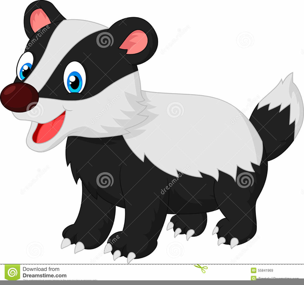 cartoon badger clipart free images at clker com vector clip art rh clker com badger clipart black and white badger clipart png