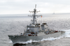 The Guided Missile Destroyer Uss John Paul Jones Image
