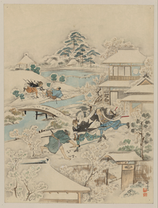 [jūichidanme - Act Eleven Of The Chūshingura - Searching The Grounds] Image