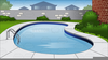 Animated Swimming Pool Clipart Image