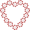 Clipart Of Valentines Day Hearts Image