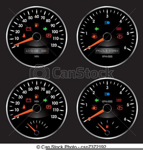 Free Clipart Speedometer | Free Images at Clker com - vector