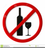People Drinking Alcohol Clipart Image