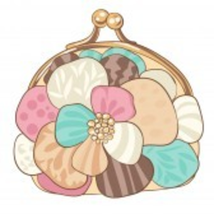 pretty purse with pastel colors illustration free images at clker rh clker com Purse Silhouette Clip Art Purse Silhouette Clip Art
