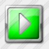 Icon Media Play Green Image