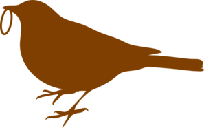 Bird With Ring Clip Art