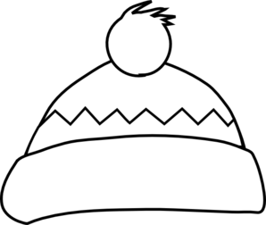 White Winter Hat Clip Art