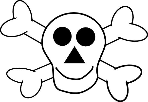 Happy Skull And Crossbones Clip Art At Clker.com