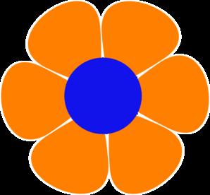 flowerpower clip art at clker com vector clip art online royalty rh clker com flower power border clipart