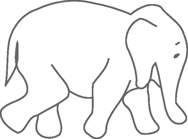 Elephant Clip Art At Clkercom Vector Clip Art Online Royalty