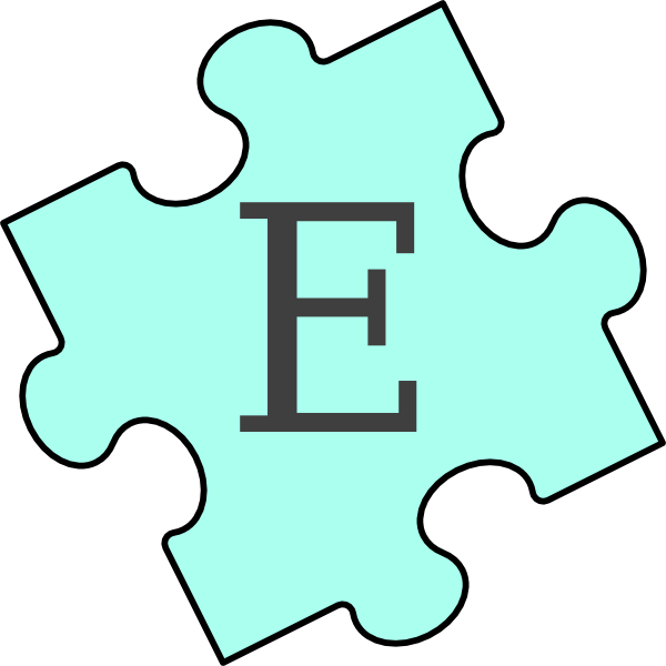 Puzzle Piece E Clip Art at Clker.com - vector clip art ...