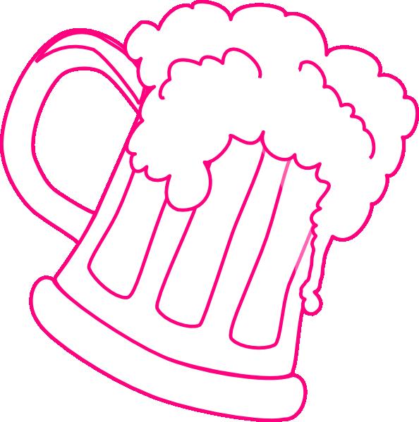 pink outline beer mug clip art at clker com vector clip root beer float clipart root beer float clip art transparent