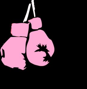 pink boxing gloves clip art at clker com vector clip art online rh clker com