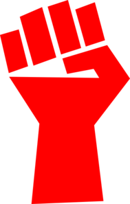 Red Fist Clip Art