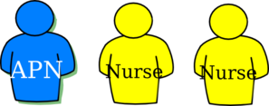 Human Outline Nursing Tokens Clip Art