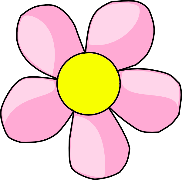 Pink Flower 10 Clip Art at Clker.com - vector clip art ...