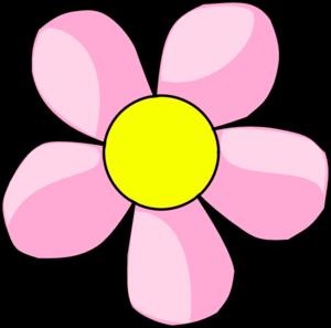Pink flower 10 clip art at clker vector clip art online pink flower 10 clip art mightylinksfo