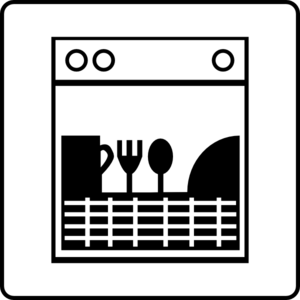 dishwasher clipart black and white. hotel icon room has dishwasher clip art clipart black and white a