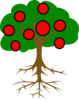 4th Step Tree Clip Art