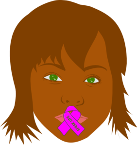 African-american Woman Speak Life 1 Clip Art