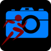 Blue Camera Icon Clip Art