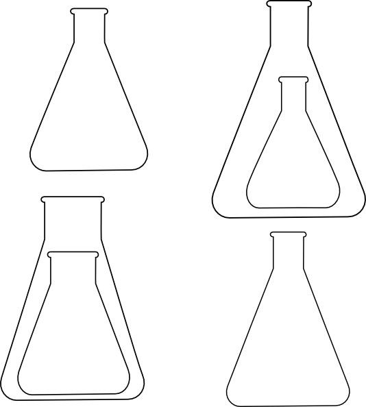 Chemistry Glassware Clip Art at Clker.com - vector clip ...