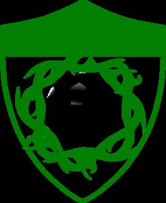 Thorn Soccer Shield Clip Art
