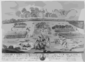 A Correct View Of The Battle Near The City Of New Orleans ...  / Francisco Scachi. Clip Art