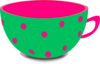 Pink And Green Clip Art