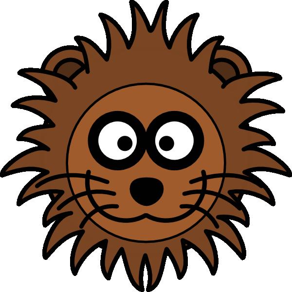 Lion Head Clip Art at Clker.com - vector clip art online ...