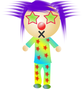 Purple Rock Star Clip Art
