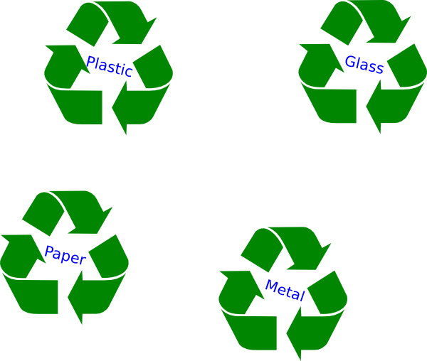 Large Green Recycle Symbol Clip Art at Clker.com - vector clip art ...