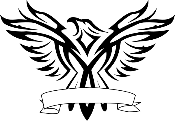 Eagle Black And White Clip Art at Clker.com - vector clip ...