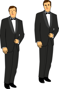 The Groom Clip Art