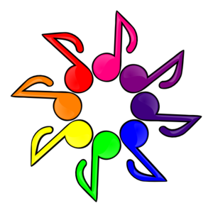 Music Color White Background Clip Art at Clker.com - vector clip art ...