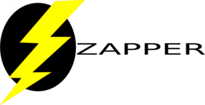 Zapper Logo Without Other Title Clip Art